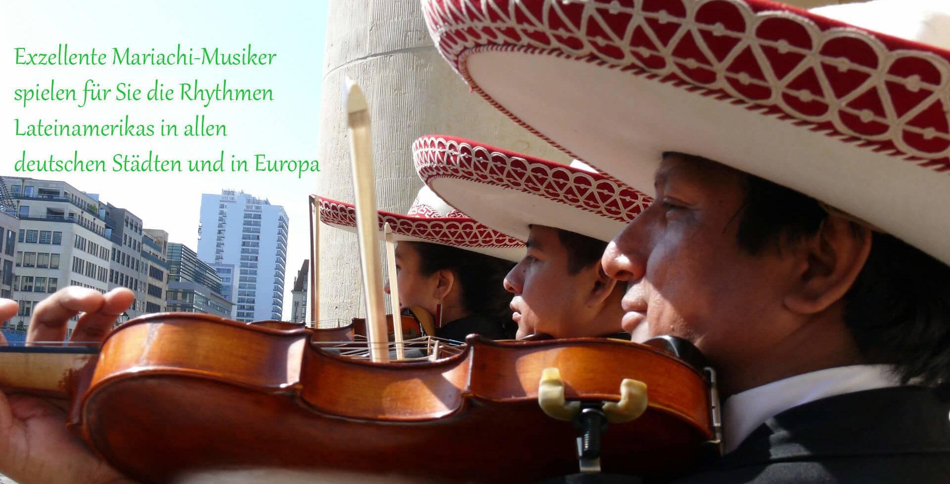 Mariachi: Hochzeitsmusik, Partymusik, Musik auf Messen und Veranstaltungen hier in Deutschland und in benachbarten Länder