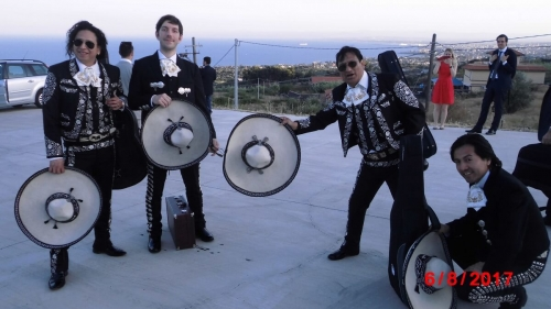 Mariachi Sol Latino in Italien, Sizilien